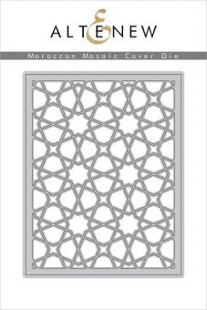 Altenew - Moroccan Mosaic Cover Die