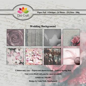 Dixi Paper Pack -  Wedding Background