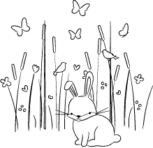 Memory Box - Max Bunny in the Meadow