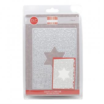 First Edition Christmas Craft A Card Die – Star – Houses
