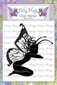 Fairy Hugs Stamps - Stone Pedestal