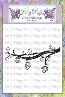 Fairy Hugs Stamps - Dragon Fruit Branch