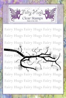 Fairy Hugs Stamps - Pine Branch