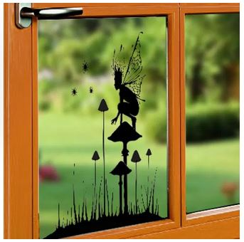 Lavinia Stamps - Window Cling - Fairy Watch