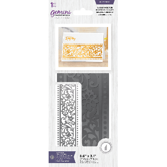 Gemini Foil Stamp Dies Elements Blossoming Border