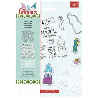 Gnome Collection - Stamp&Die&Stencil set - Gnome Collection Child