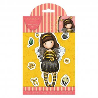 Gorjuss Rubber Stamps Bee-Loved