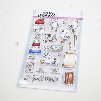 Heffy Doodle You Go, Gull Clear Stamps