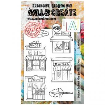 AALL and Create - A6 Stamp 528