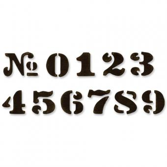 Cargo Stencil Numbers