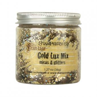 Stampendous Micas & Glitters Lux Mix - Gold