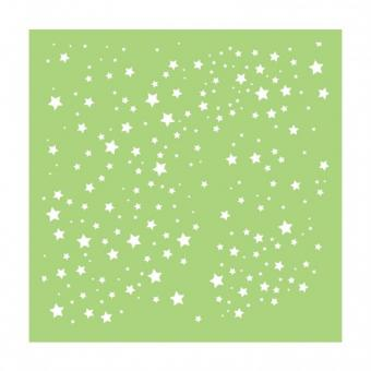 "Kaisercraft Designer Template 6""X6"" - scattered stars"