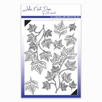 John Next Door Clear Stamp - Shaded Ivy