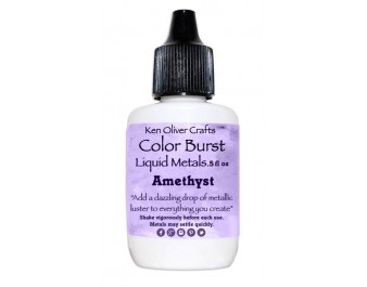 Ken Oliver - Color Burst - Liquid Metals - Amethyst