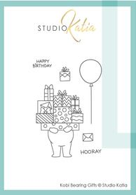 Katia Studio -  Kobi Bearing Gifts | Clear Stamp Set