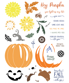 LDRS Creative Petal Pusher Pick of the Patch Clear Stamps