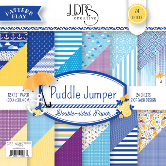 LDRS Creative Puddle Jumper 12x12 Paper Pack