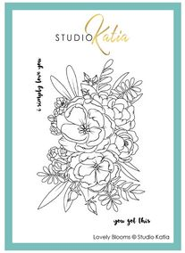 Katia Studio -  LOVELY BLOOMS | Clear Stamp Set