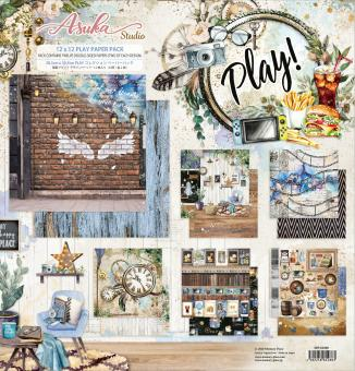 Memory Place Play! 12x12 Inch Paper Pack