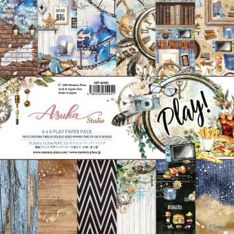 Memory Place Play! 6x6 Inch Paper Pack