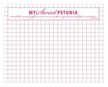Mini MISTI Grid Paper Pad