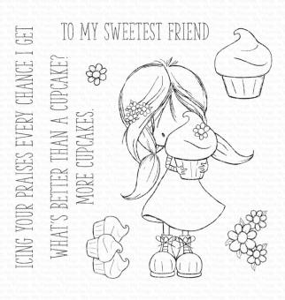 My Favorite Things Cupcake Cutie Clear Stamps
