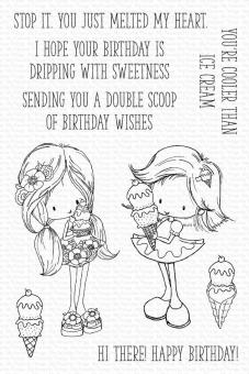 My Favorite Things Double Scoop of Cute Clear Stamps