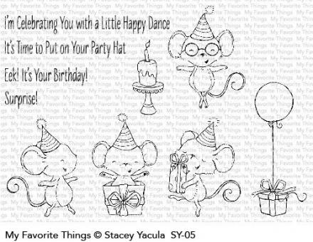 My Favorite Things It's a Mice Time to Celebrate
