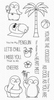 My Favorite Things Penguins in Paradise Clear Stamps