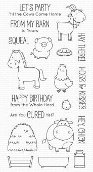 My Favorite Things The Whole Herd Clear Stamps