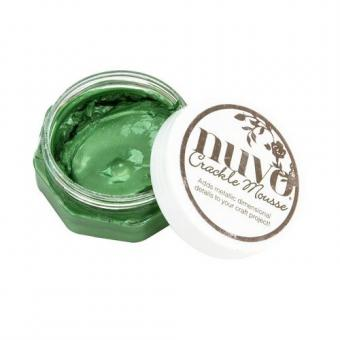 Nuvo Crackle Mousse - Chameleon Green