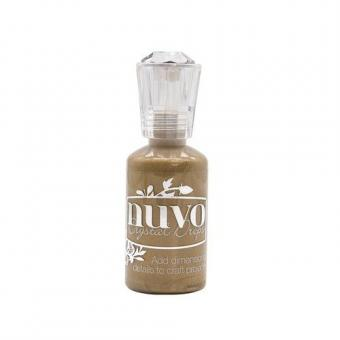 Nuvo crystal drops - dirty bronze