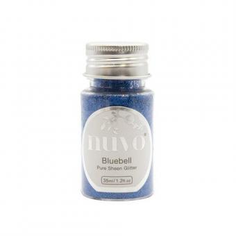 Nuvo Pure sheen glitter - bluebell