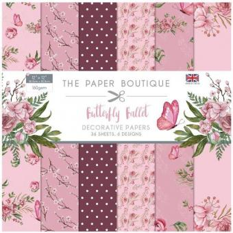 Butterfly Ballet 12x12 Inch Paper Pack