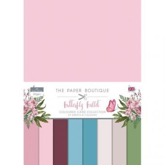 Butterfly Ballet Colour Card Collection A4