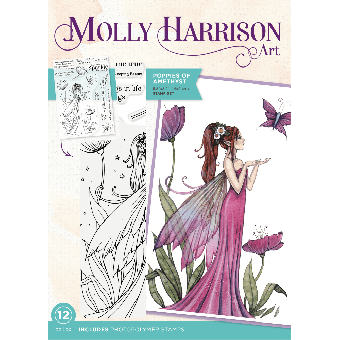 Molly Harrison - Poppies of Amethyst