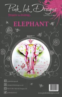 Pink Ink Designs - Elephant