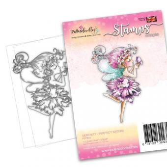 Polkadoodles Serenity Perfect Nature Clear Stamps