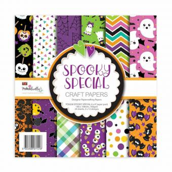 Polkadoodles Spooky Special 6x6 Inch Paper Pack