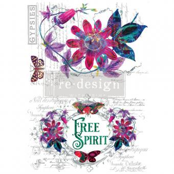 Prima Marketing Transfer Paper Passion Flower