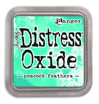 Tim Holtz Distress Oxides Ink Pad - peacock feathers