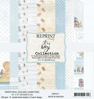 Reprint It´s a Boy Collection 12x12 Inch Paper Pack