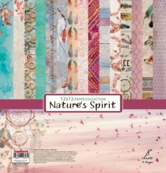 "Paper Collection Set 12""*12"" Nature's Spirit"