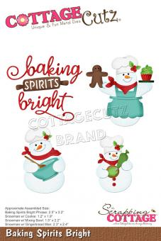 Scrapping Cottage Baking Spirits Bright