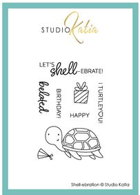 Katia Studio - Shell-ebration | Clear Stamp Set