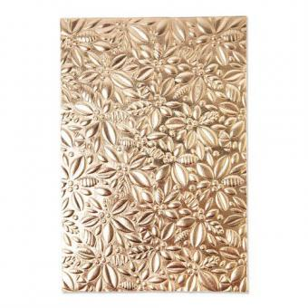 Sizzix 3-D Textured Impressions Embossing Folder Holly