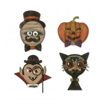 Sizzix Thinlits Die Set - 10PK Hip Haunts Tim Holtz