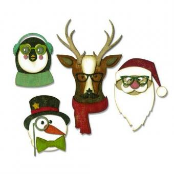 Sizzix Thinlits Die set - Cool Yule 31PK 663099 Tim Holtz