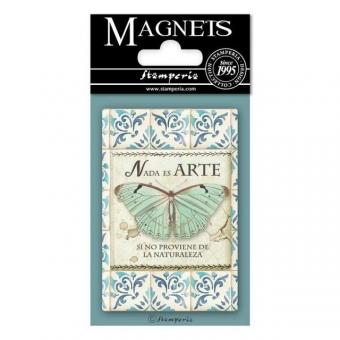 Stamperia Magnet  - Azulejos Butterfly