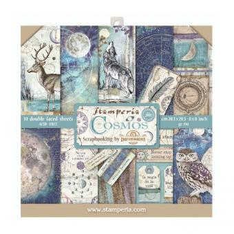 Stamperia Cosmos 8x8 Inch Paper Pack